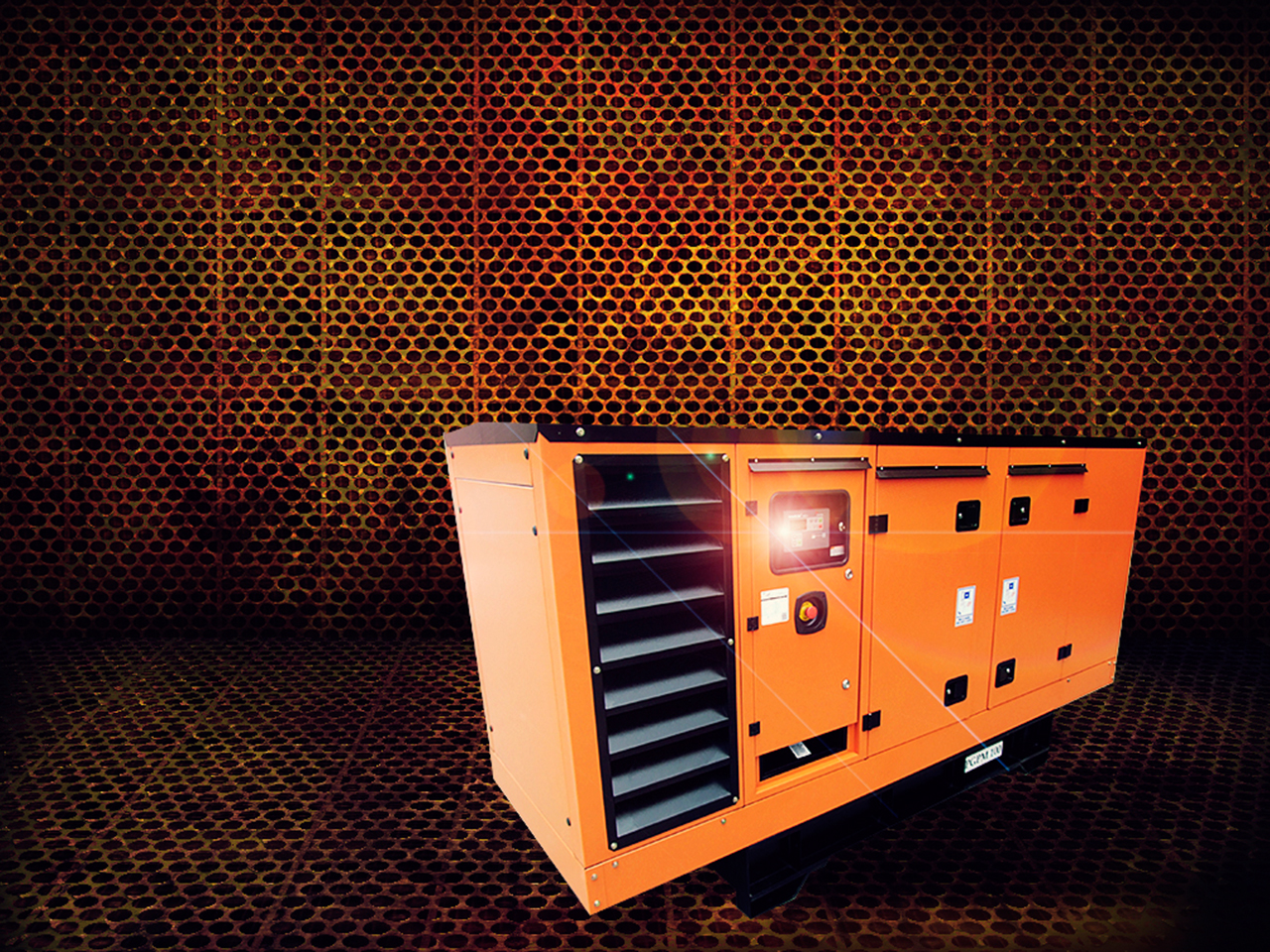 plantas electricas con cabina insonorizada