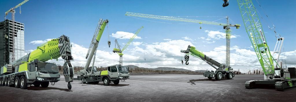 grúas telescópicas sobre camión