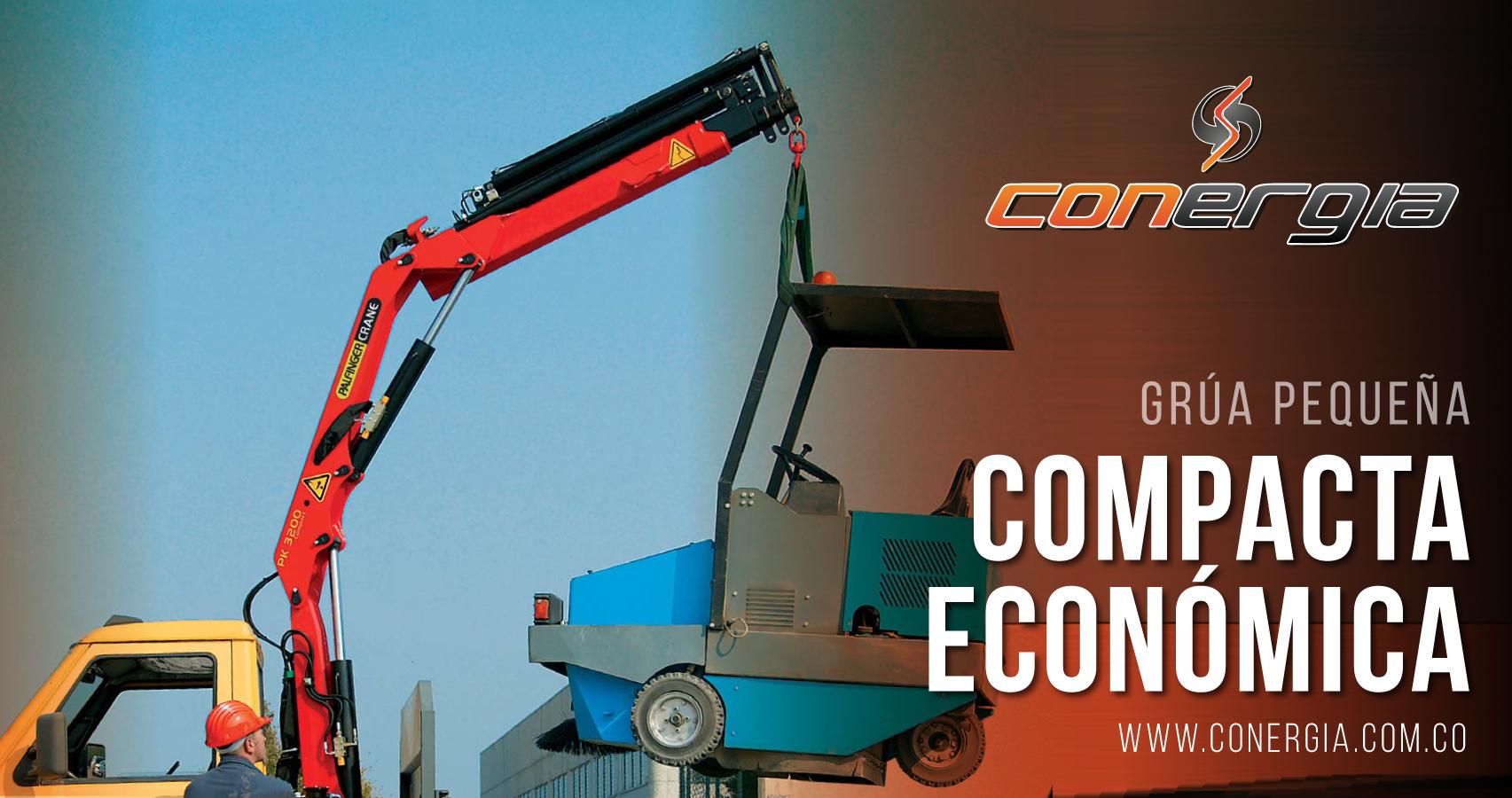 grua palfinger economica compacta