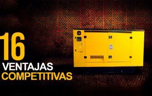 alquiler de plantas electricas |16 Ventajas Competitivas