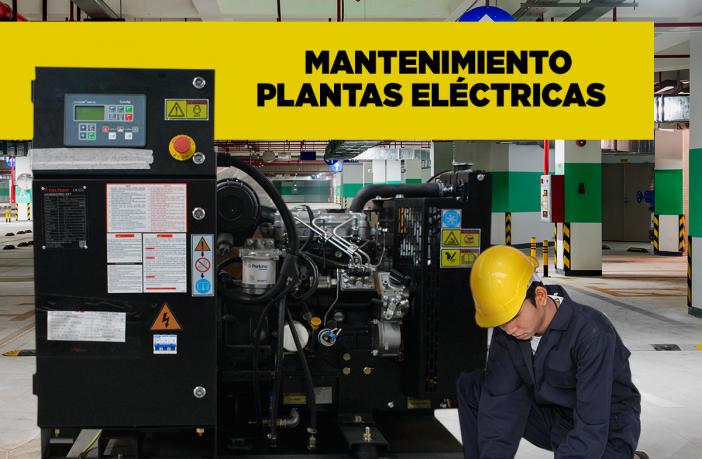 Mantenimiento de Plantas electricas